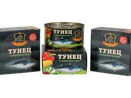 Тунец Хавиар гавайский соус 185 гр