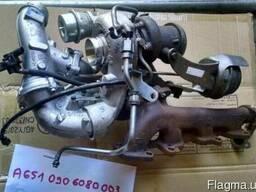 Турбина mercedes sprinter bi-turbo 163 л с A6510906080003