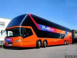 Туристические пассажирские перевозки Львов Европа, Прокат