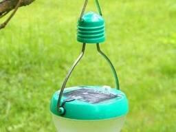 Туристический фонарь на солнечной батарее 6 LED