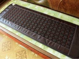Турмалиновый(турманиевый) коврик, мат,150 на 50 см, Корейский турмалин