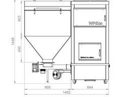 Твердотопливный котел WPEco-25 кВт