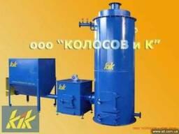 Твердотопливный промышленный котел от 100 кВт