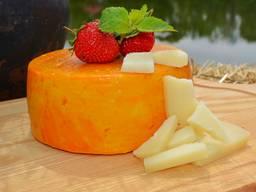 Твердый сыр Каприно Романо из козьего молока ( 6 мес. )