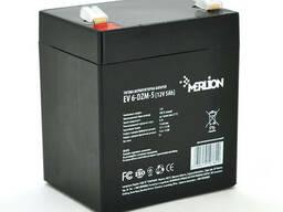 Тяговая аккумуляторная батарея Merlion EV 6-DZM-5, 12V 5Ah F2 (90*70*101), Q10