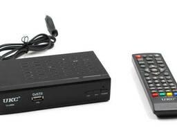 Тюнер DVB-T2 0968 с поддержкой wi-fi адаптера UKC 6922 (gr_011568)