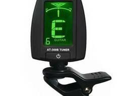 Тюнер хроматический Aroma АТ-300B для гитары