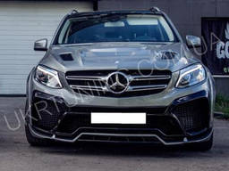 Тюнинг Капот Mercedes GLE Wagon W166