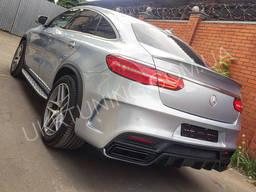 Задний бампер Mercedes GLE Coupe C292