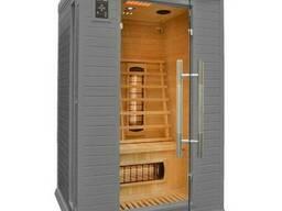 Домашня інфрачервона сауна - це компактна дерев'яна кабінка