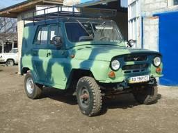 УАЗ 469 реставрация кузова