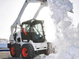 Уборка, чистка снега минитрактором Харьков!