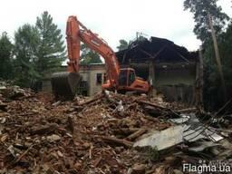 Уборка и очистка участков, снос ветхих зданий