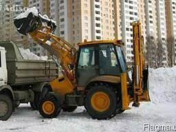 Уборка и вывоз снега в Харькове