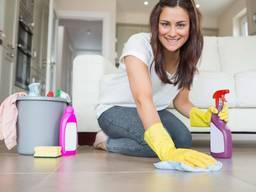 Уборка квартир, домов, частных участков