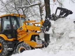 Уборка снега, расчистка территории, вывоз снега