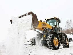 Уборка снега. г. Черкассы.
