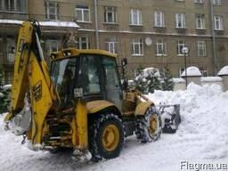 Уборка снега механизированная