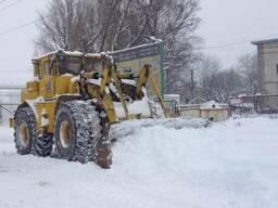 Уборка снега мусора аренда спецтехники