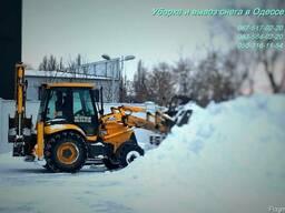 Уборка снега Одесса, чистка снега в Одессе.