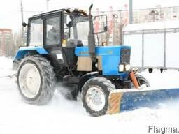 Уборка снега в Одессе. Чистка снега
