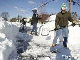 Уборка снега вручную киев