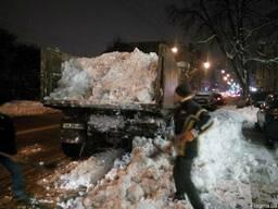 Уборка снега вручную киев цена