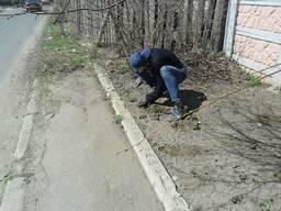 Уборка участков, огородов, территории Донецк