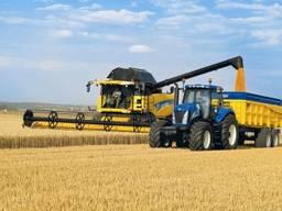 Услуги уборки урожая зерновых, аренда комбайнов на уборку