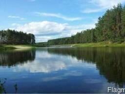 Участки у леса и озер в 35 км от Киева (Бышевская тр) Лышня