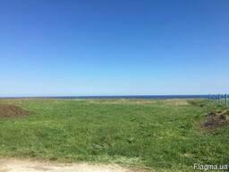Участок 5,2 сотки первая линия от моря. Новобугово.