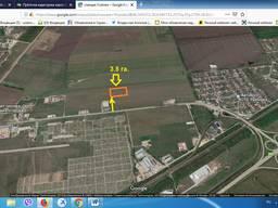 Учсток 3.59 гектара для садоводства, станция Усатово