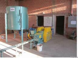 Ударно механический пресс по производству топливных брикетов