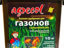 Удобрение Agrecol-осень 5кг. для газона и хвои.
