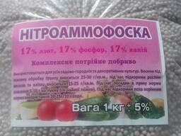 """Удобрение """"Нитроаммофоска"""" 1кг"""