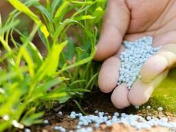 Удобрения минеральные: селитра, карбамид, аммофос, NPK