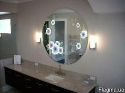 Уф-печать на зеркале