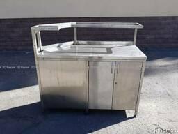 Угловой стол-тумба Б/у для кухни кафе, недорого-5500грн!!!