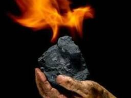 Уголь Антрацит с доставкой по Мариуполю насыпью или в мешках