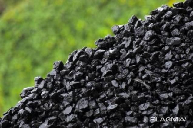 Уголь Антрацит в мешках и насыпом.