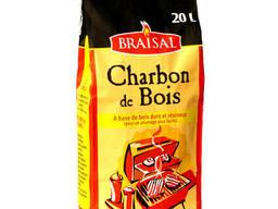 Уголь древесный 3 кг твердые породы древесины Braisal