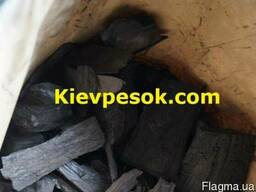 Древесный уголь в мешках по 3кг