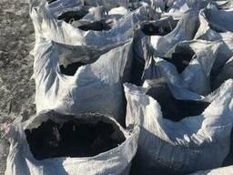 Уголь древесный charcoal средней фракции дуб, ясень производ - фото 1