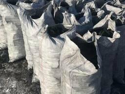 Уголь древесный charcoal средней фракции дуб, ясень производ - фото 5