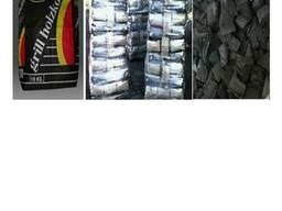 Уголь древесный в бумажных мешках . экспорт в европу