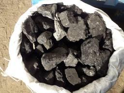 Уголь каменный для отопления в мешках