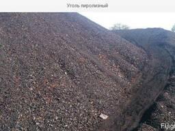 Уголь пиролизный в мешках продам