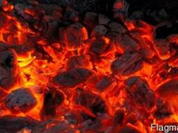 Уголь в мешках. Киев