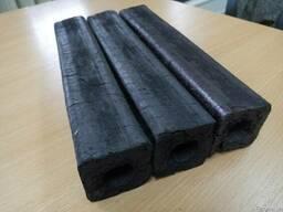 Угольный дубовый брикет типа пини-кей