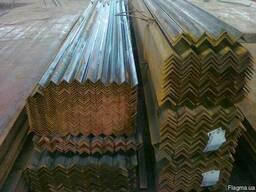 Уголок 160х160х10 стальной г/к мерный 12 м ГОСТ 8509
